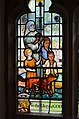 Stained glass window, All Saints' church, Beckley (15569945141).jpg