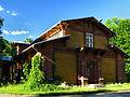 Stajnia (z powozownią), w zespole pałacowym, mur.-drewn., 1889-1894 Białowieża JoannaPyka.JPG
