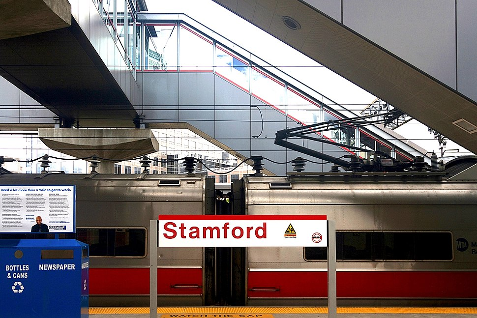Stamford Transportation Center Train Station
