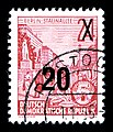 Stamps GDR, Fuenfjahrplan, 24 (20) Pfennig, Buchdruck 1954, 1957.jpg