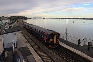 Starcross railway station - Image: Starcross FGW 153361 153373 down train