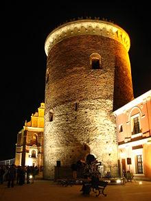 Stare Miasto w Lublinie - donżon na zamku.jpg