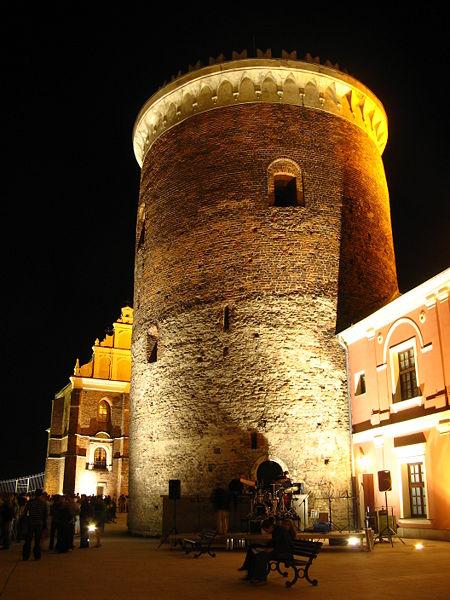 File:Stare Miasto w Lublinie - donżon na zamku.jpg