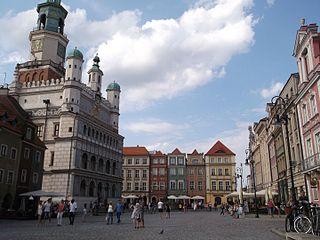 Neighbourhood in Poznań, Poland