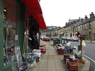 Hadfield, Derbyshire Human settlement in England