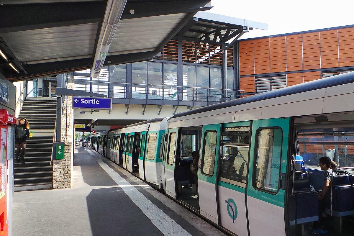 Ligne du métro de paris u wikipédia