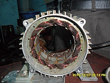 Stator of a 3-phase induction motor