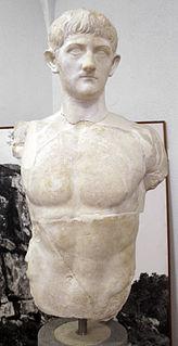 Drusus Caesar Adopted grandson and heir of Roman emperor Tiberius