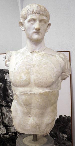 Drusus Caesar - Possible statue of Drusus Caesar, from Roselle (Grosseto)
