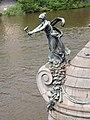 Statue, Čechův most, Praha, Prague, Prag, Hlavní město Praha - panoramio.jpg
