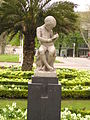 Statue in the park in front of the Bilbao Fine Arts Museum.JPG