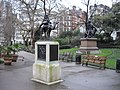 Statues in Victoria Embankment Gardens - geograph.org.uk - 1729996.jpg