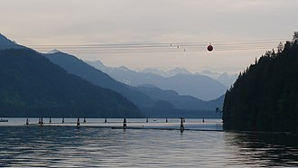 Stave Lake - Image: Stave Lake, Mission panoramio Colin W