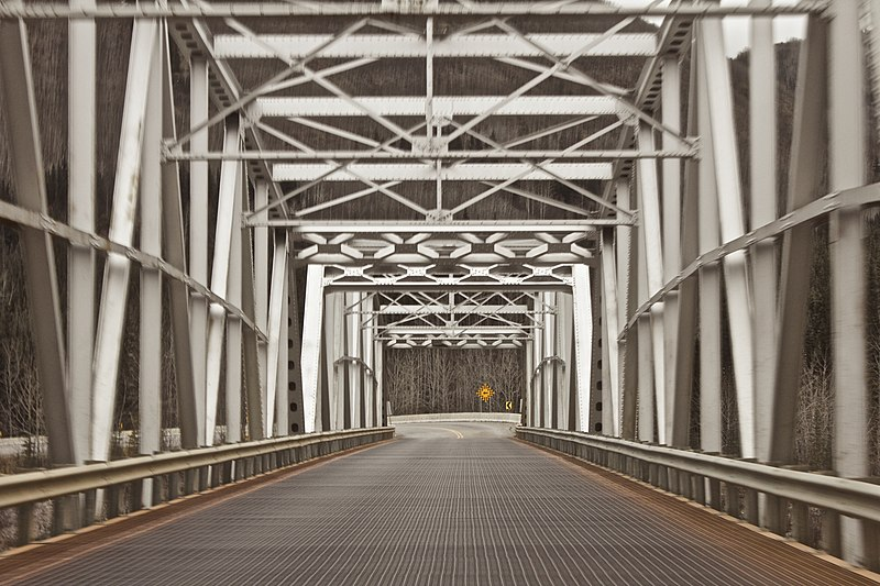File:Steel bridge on Alaska Highway (Unsplash).jpg