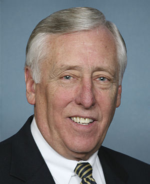 English: Congressional portrait of Steny Hoyer.