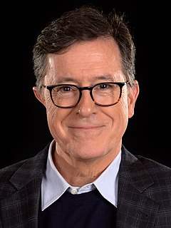 Stephen Colbert American comedian, writer, actor, and television host