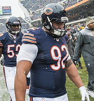 Stephen Paea - Paea with the Bears in 2014