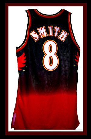 Steve Smith (basketball) - Smith enjoyed some of the most productive seasons of his career while wearing an Atlanta Hawks uniform.