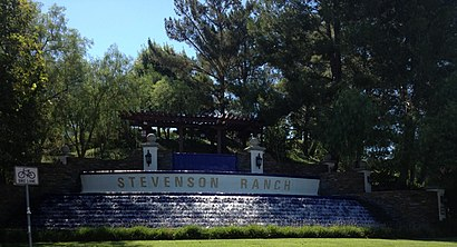 How to get to Stevenson Ranch with public transit - About the place