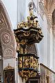 Stift Seitenstetten Kirche Kanzel 01.JPG