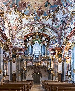 Pipe organ of Wilhering Abbey Church