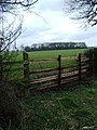 Stile and footpath to Tomley Hall Farm - geograph.org.uk - 1775229.jpg