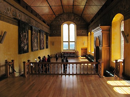 The Chapel Royal, Stirling Castle, a major focus for liturgical music Stirling Castle Chapel Royal interior.jpg