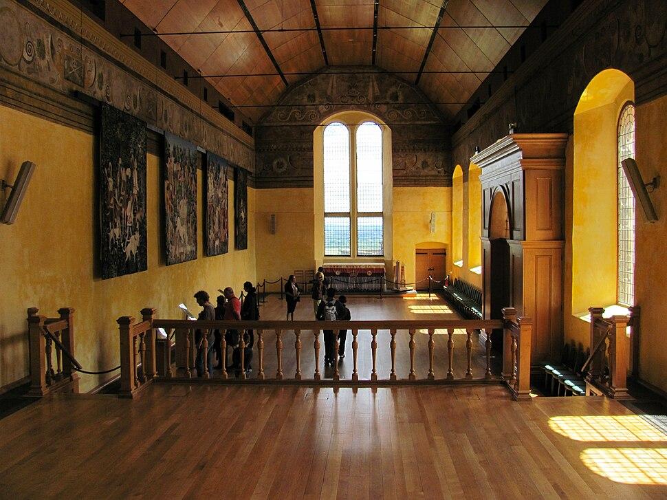 Stirling Castle Chapel Royal interior