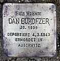 Stolperstein Bornepfad 4 (Hermd) Dan Bukofzer.jpg