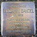 Stolperstein Delmenhorst - Benjamin Bandel (1908).JPG
