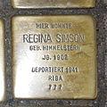 Stolperstein Höxter Westerbachstraße 12 Regina Simson.jpg