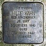 Stolperstein Hilde Kahn Müllheim.jpg