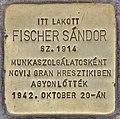 Stolperstein für Sandor Fischer (Budapest).jpg