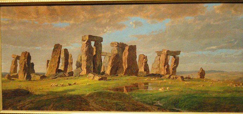 File:Stonehenge by Jasper Francis Cropsey, 1876 - Nelson-Atkins Museum of Art - DSC09199.JPG