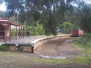 Stony Point railway line - Stony Point station