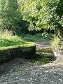 Stourbridge Canal above the bottom lock, Stourton - geograph.org.uk - 976369.jpg