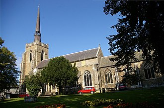 Stowmarket - Church of St Peter and St Mary