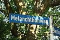 Straßennamensschild Melanchthonweg, Celle.jpg