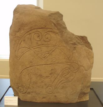 History of Dundee - The Strathmartine Castle Stone, a type I Pictish stone