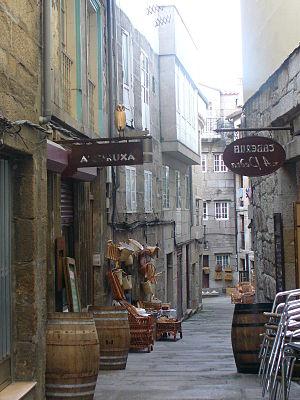 Strato de la korbofaristoj (Rua dos Cesteiros), Vigo