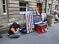 Street Vendor on the Royal Mile, Edinburgh - geograph.org.uk - 506010.jpg