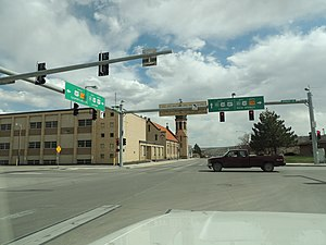 Rawlins, Wyoming - Downtown Rawlins