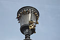 Streetlight with padlocks bridge milvio.JPG