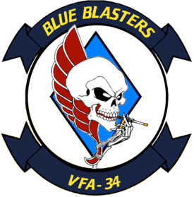 Strike Fighter Squadron 34 (US Navy) insignia 1999.png