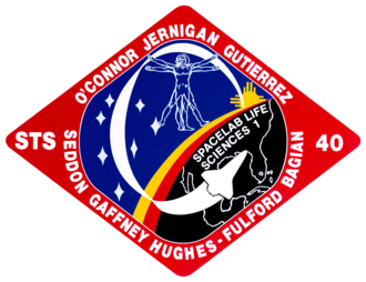 STS-40 - Image: Sts 40 patch