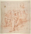 Study for a Virgin and Child with Two Angels (recto); Two Studies of Hands (verso) MET DP811184.jpg