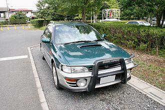 Subaru Impreza - Subaru Impreza Gravel Express (Japan)