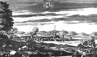 Filipstad - Filipstad around 1700, in the work Suecia antiqua et hodierna.
