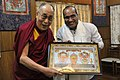 Sujeet Kumar with His Holiness Dalai Lama.jpg