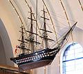 Sundby Kirke Copenhagen ship.jpg